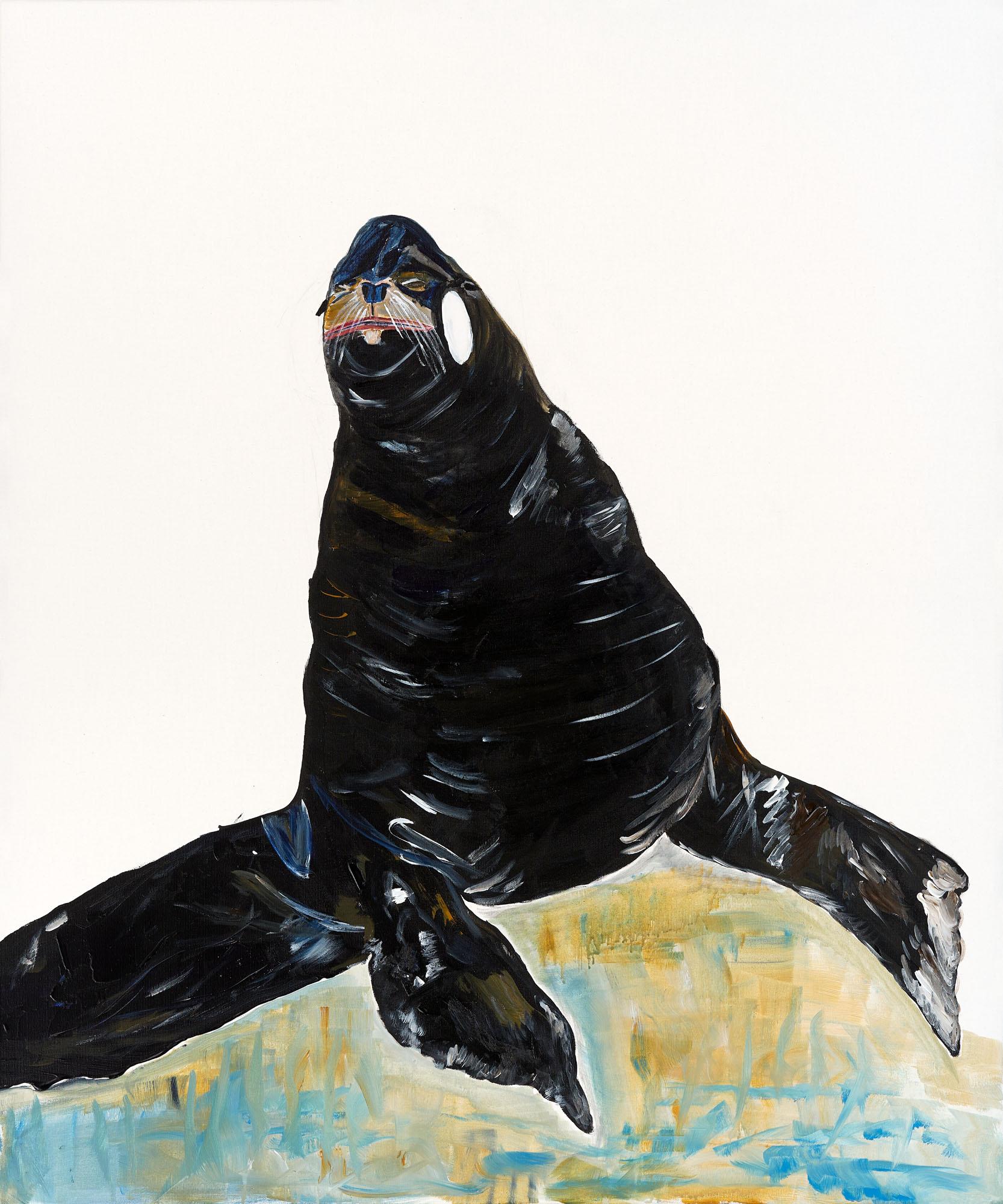 Die einzigartige Meeresgöttin in Gestalt einer Robbe